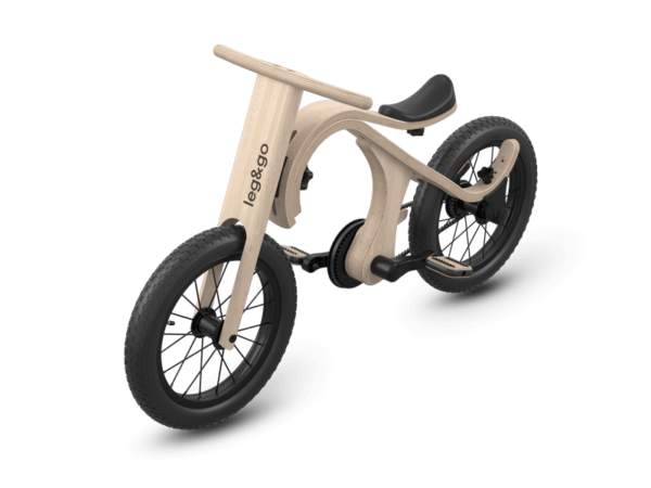Holzfahrrad für Kinder - Laufrad aus Holz