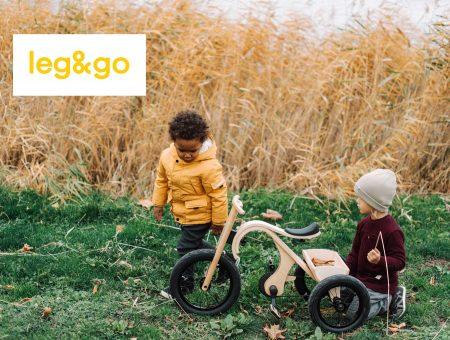 Leg&go Dreirad mit Ladekasten