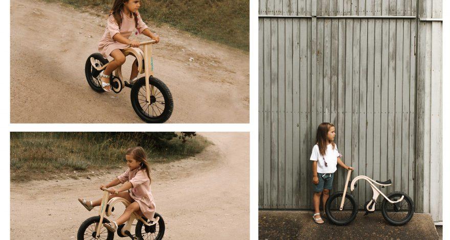 Holzfahrrad für Kinder