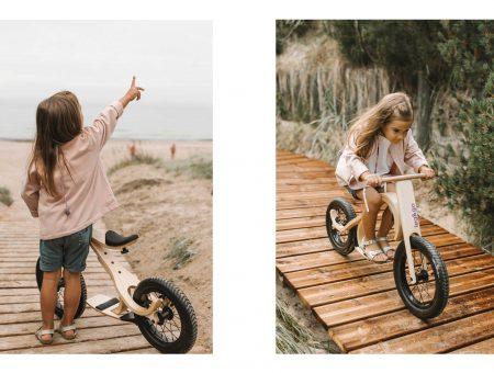 Mit einem kleinen Add-On zum Mountainbike für Kinder