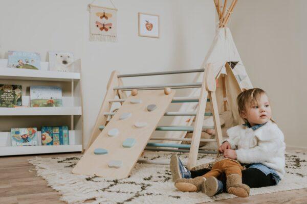 Kletterrampe - Holzspielzeug ab 1 Jahr